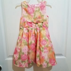 Children's Place summer floral dress 24mo